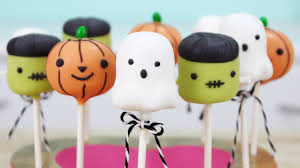 Halloween Cookie Cakes How To Make Halloween Cake Pops Youtube