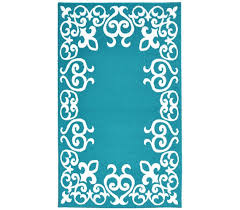College Dorm Rugs Bordeaux College Rug Teal And White