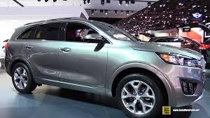 2016 kia sorento sxl t gdi exterior and interior walkaround