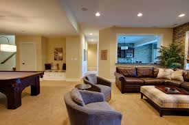 beach paint colors with beige carpet basement traditional and