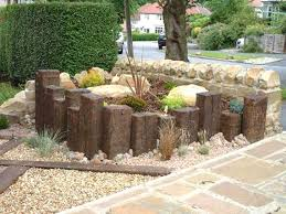 Railway Sleepers Garden Ideas Small Garden Railway Ideas The Garden Inspirations