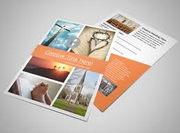 evangelical u0026 christian church brochure template mycreativeshop