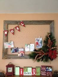 love this diy card display for all of those christmas cards see