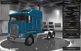 kenworth aerodyne truck kenworth k200 for 1 25 fixed version mod for ets 2