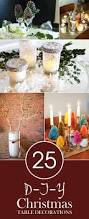 Table Decorations For Christmas Gorgeous Diy Christmas Table Decorations