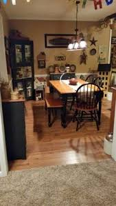 Primitive Dining Room Tables I Love Primitive Stuff My Kitchen And Living Room Are Done In It