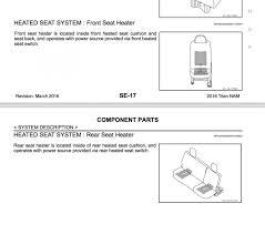nissan titan heater not working need help with front heated seats nissan titan xd forum