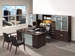 U Shape Desk New Executive U Shape Desk W Laterals Storage