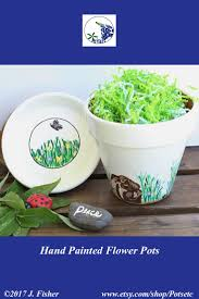 Small Flower Pot by 50 Best Potsetc Hand Painted Flower Pots Images On Pinterest