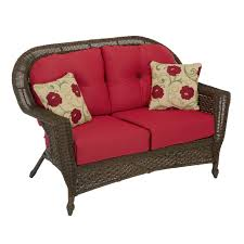 chicago wicker sonoma wicker settee deep seating chairs u0026 love