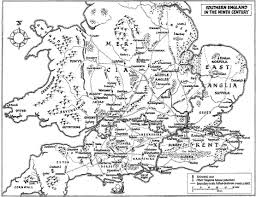 Berkshire England Map by Anglo Saxons Net Southern England In The Ninth Century