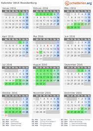Kalender 2018 Hamburg Schulferien Kalender 2016 Ferien Brandenburg Feiertage