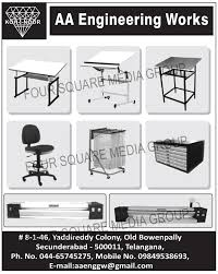 Engineering Drafting Table Aa Engineering Works Secunderabad Manufacturer Of Drawing