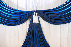 wedding backdrop themes royal blue wedding decorations for a truly regal look