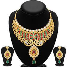 necklace set gold finish necklace set by sukhi necklace sets homeshop18