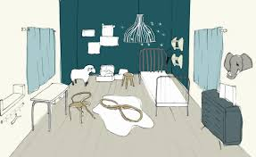 dessin chambre bébé garçon source d inspiration dessin chambre d enfant ravizh com avec dessin