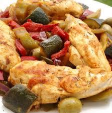 cuisiner des blanc de poulet recette de mijoté de légumes et blanc de poulet recettes diététiques