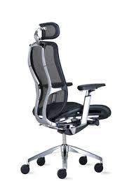desk chair with headrest vesta modern ergonomic office chair with headrest