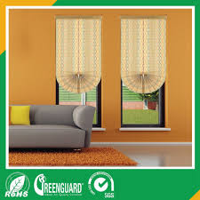cheap price fashional roller roman blinds fan style buy office