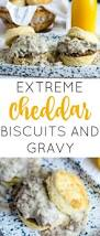 extreme cheddar biscuits and gravy tornadough alli