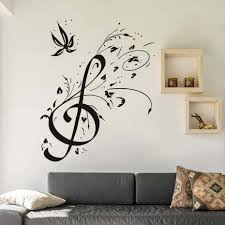 popular home decor music buy cheap home decor music lots from wall decoration diy home decor musical notes decal vinyl tv mural wall sticker background wallpaper for
