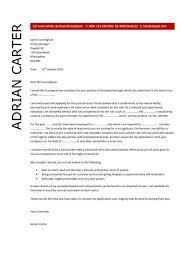 cover letter sample marketing job