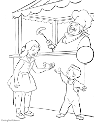 circus coloring pages printable circus fun coloring page