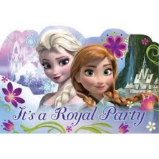 frozen party supplies frozen party supplies frozen large postcard invitation seals