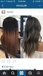 putting silver on brown hair best 25 dark ash brown hair ideas on pinterest dark ash brown