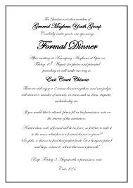 party invitation letter formal party invitation cimvitation