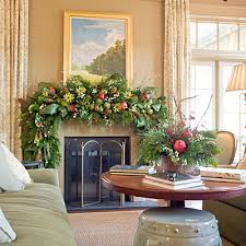 How To Decorate A Mantel For Christmas Dressed Up Christmas Mantels Firemasters