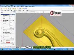 Woodworking Design Software Freeware by Comeid Artcam And Cnc Wood Carving Machine Youtube