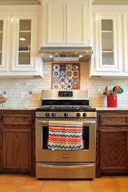 mexican tile kitchen ideas spanish style kitchen design with saltillo tile floors and