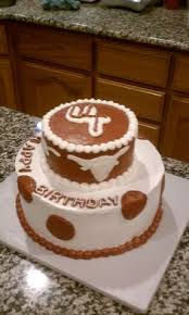 ut university of texas graduation cake longhorn football