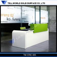 Marble Reception Desk China Fancy Design Artificial Marble Reception Desk With Led Light