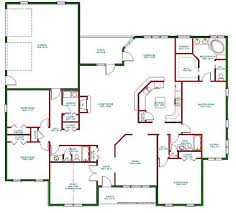 site plans for houses 4 bedroom floor plans ranch amazing one level house plans gif