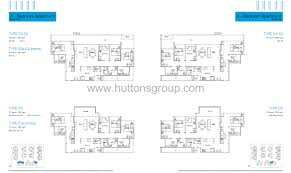 Floor Plan La by 4 Bedroom Dk La Fiesta At Sengkang