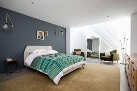 fauteuil chambre a coucher design interieur peinture murale grise chambre coucher tableau