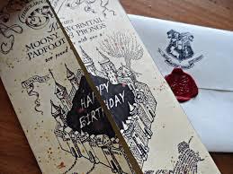 18th Birthday Invitation Card Designs Harry Potter Birthday Card Lilbibby Com