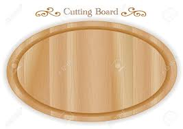 Wood Carving For Kitchens by Cutting Or Carving Board Oval Shape Wood Grain Detail For