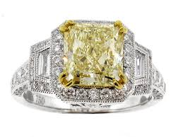 fancy yellow diamond engagement rings 18k fancy yellow diamond engagement ring engagement rings