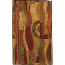 Mohawkhome Mohawk Home Picasso Wine 2 Ft X 8 Ft Rug Runner 319922 The