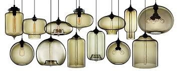 custom blown glass pendant lights contemporary dining room chandeliers modern blown glass pendant