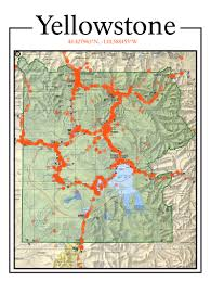 Map Of Yellowstone National Park Visualizing Our National Parks U2013 I Data U2013 Medium