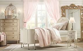 shabby chic bedroom ideas colorful venetian blind curved padded