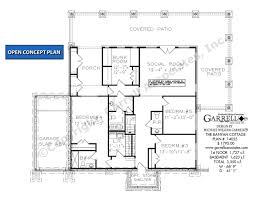 Cottage House Plans With Basement Banyan Cottage House Plan House Plans By Garrell Associates Inc