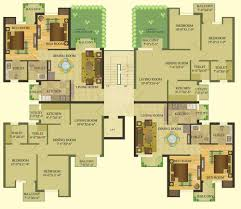 sare crescent parc royal greens 2 3 and 4 bhk apartments in gurgaon 2 bhk cluster plan sare home