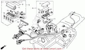 honda gl1200 motorcycle wiring diagrams gl1800 honda goldwing