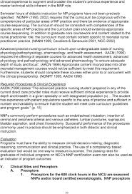 Responsibilities Of A Neonatal Nurse Education Standards For Neonatal Nurse Practitioner Programs Pdf