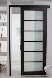 Frosted Glass Sliding Barn Door by Contemporary Glass Door Images Glass Door Interior Doors